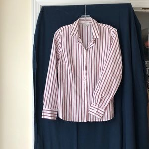 Van Heusen striped shirt M